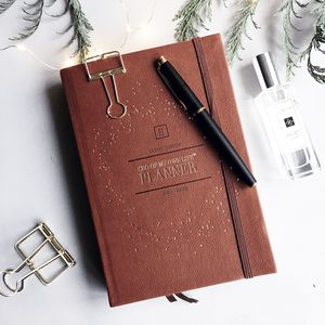 2018 Daily | Ceo Of My Own Life® Planner | Tan