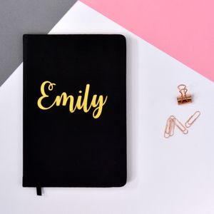 Personalised Soft Touch Notebook