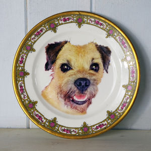 Personalised Pet Portrait Plate