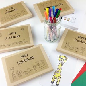 Colouring Box Subscription - subscriptions
