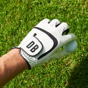 Personalised Golf Glove - sports fan