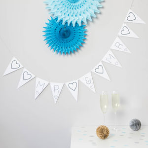 Mr And Mr Bunting - room decorations
