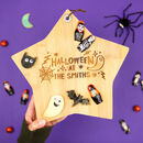 Personalised Halloween Star Platter