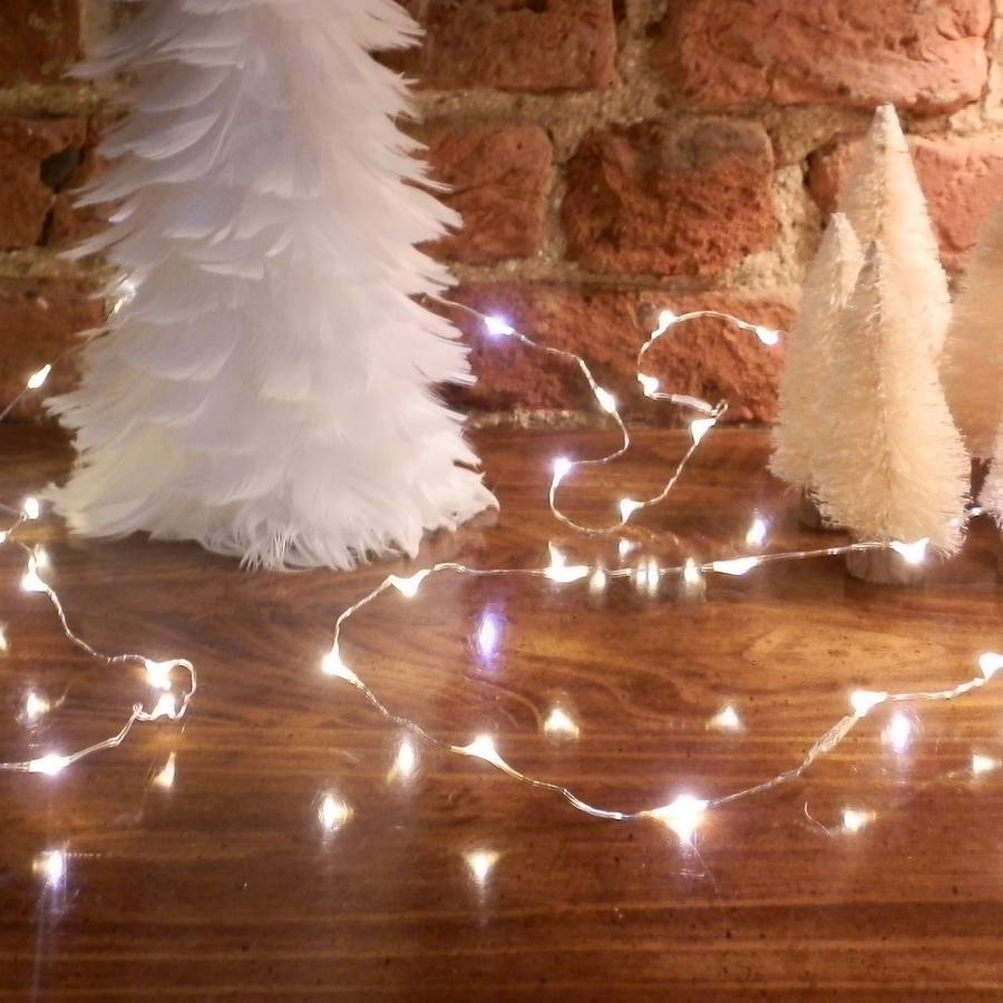 Fairy Lights Table Decorations By Bunting Amp Barrow
