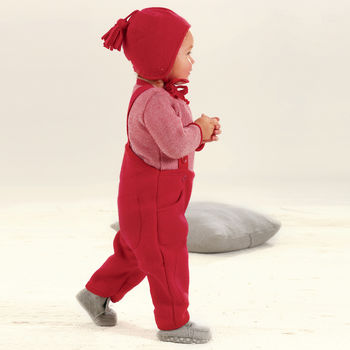 Organic Boiled Wool Children's / Baby Trousers