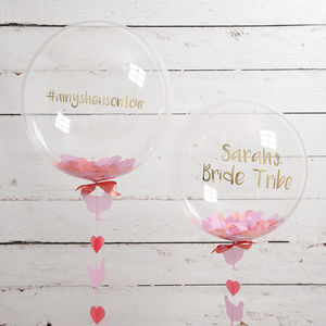 Personalised Hen Party Confetti Balloon