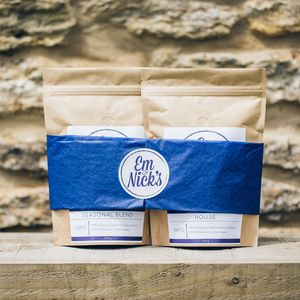 Coffee Gift Box, Two 250g Bags - under £25