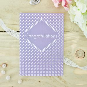 Congratulations Engagement Card And Wedding Card - wedding cards