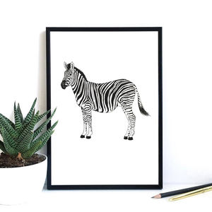Zebra Print - drawings & illustrations