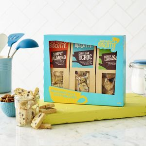 Sweet Biscotti Gift Pack - gifts to eat & drink