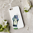 Inky Mallard Phone Case With Optional Message