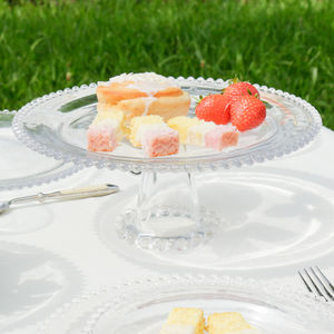 Glass Elegant Dining Cake Stand Gift