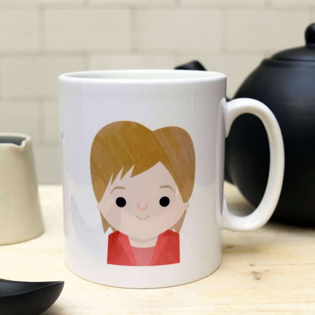 'Yes! I'd Love A Cup' Mug