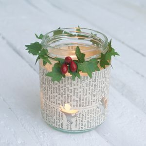 Festive Tea Light Holder
