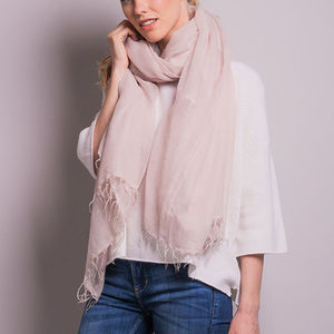 Ultra Fine Tasselled Scarf - what's new