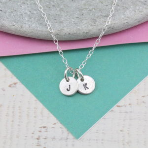 Sterling Silver Dinky Personalised Pendant - necklaces & pendants