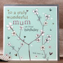 Birthday Card For A Mum