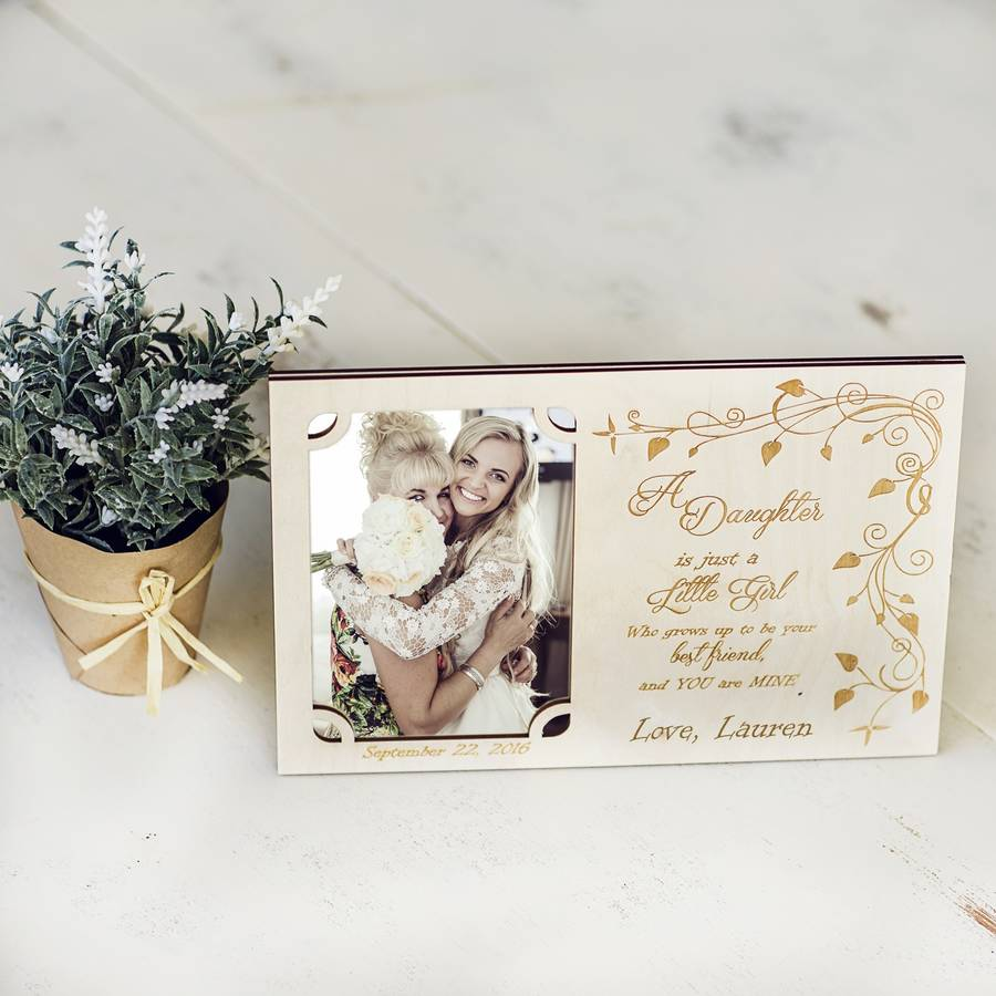 mother of the bride personalised photo frame - Mother Of The Bride Picture Frame