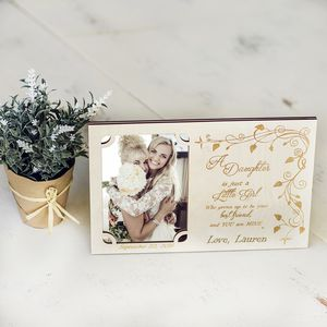 Mother Of The Bride Personalised Photo Frame - home accessories