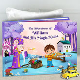Personalised Children's Keepsake Story Book With Box - christening