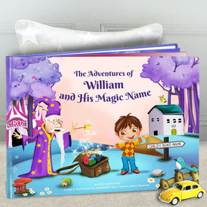 Personalised Children's Story Book With Keepsake Box