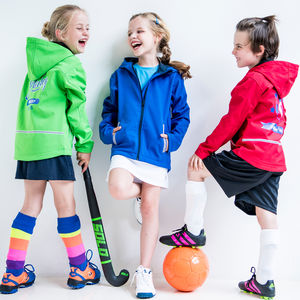 Personalised Sports Soft Shell Jacket - children's coats & jackets