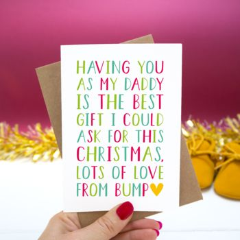 'From The Bump' Christmas Card
