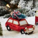 Hanging Mini Car With Christmas Tree