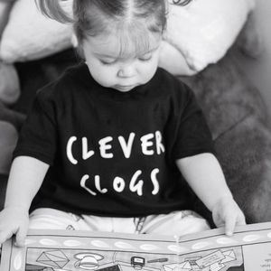 Clever Clogs T Shirt - t-shirts & tops