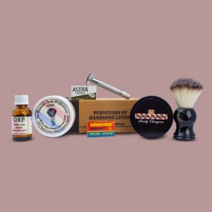 The Manly Gentleman's Shaving Kit - beard & moustache gifts
