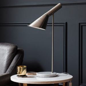 Birdy And Concrete Table Lamp - lighting