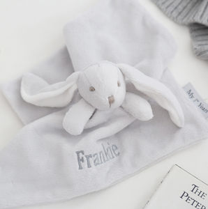 Super Soft Bunny Comforter Grey - baby care