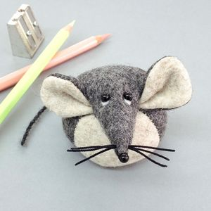 Handmade Collectible Mouse Paperweight - desk accessories