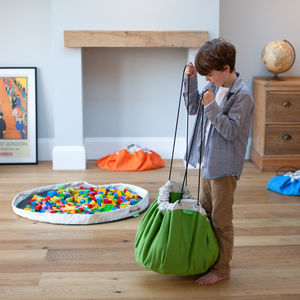 Stuffel Play Mat And Storage Bag - children's room