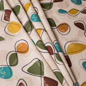 Mid Century Inspired Interior Weight Fabric 'Spiro'