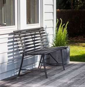 Port Meirion Garden Bench - garden furniture