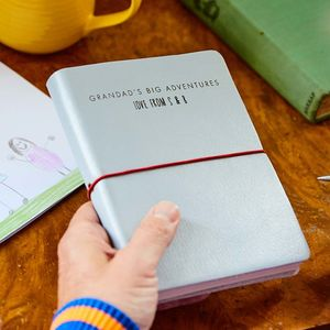 Personalised Leather Journal/Notebook