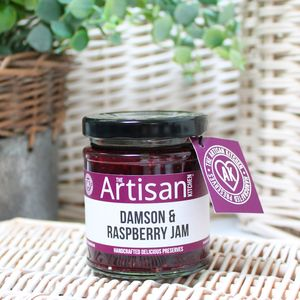 Artisan Damson And Raspberry Jam