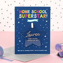 Children's Home School Superstar Award Keepsake Card