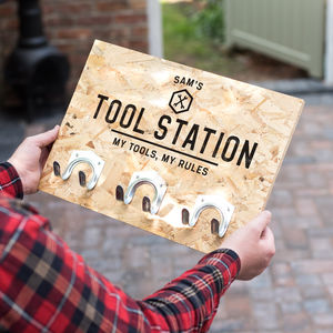 Personalised Tool Hooks - for him