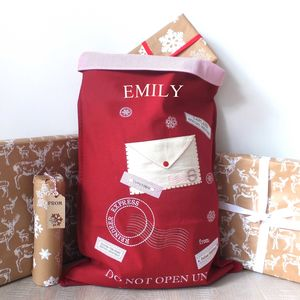 Letter To Santa Red Sack 40% Off