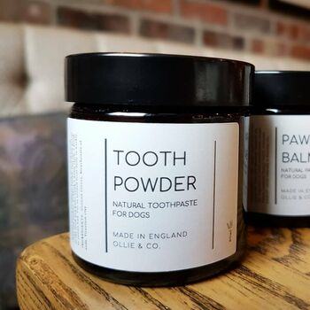 Natural Dog Toothpowder Vegan