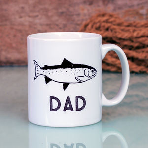Fisherman's Personalised Mug - sale by category