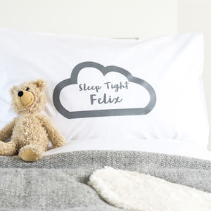 Personalised Children's Pillowcase Sleep Tight - what's new