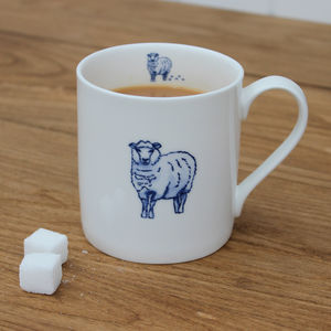 'Sheep' China Mug - mugs