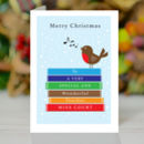 Personalised Teachers Christmas Card