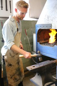 Day Off Spent Blacksmithing At Oldfield Forge - unusual activities
