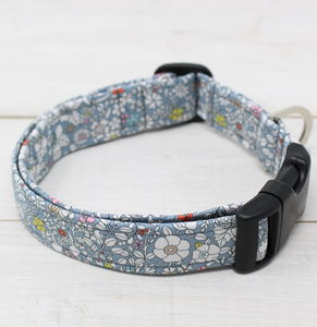 Grace Liberty Fabric Dog Collar - dogs