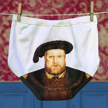 Pants For Men And Ladies Henry Viii Tudor Portrait