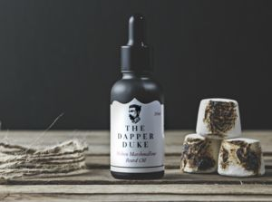 Molten Marshmallow Beard Oil - stocking fillers